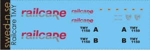 Decals for Railcare TMY