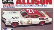 1971 Mercury Cyclone Stock Car 1/25