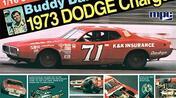 Buddy Baker 1973 Dodge 1/16