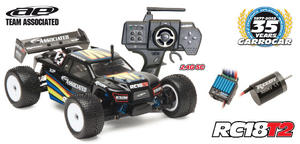 RC18T2 Borstls 1/18 RTR 2.4 G