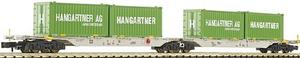 Container car, double, Fleischmann