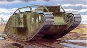 "WW1 stridsvagn MK. IV ""Female"""