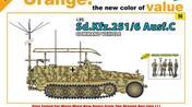 Sd.Kfz.251/6 Ausf.C Command Vehicle inkl figurset