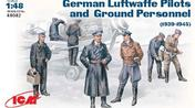 Luftwaffe Pilots & Ground Crew (1939-45) 1/48