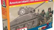 Set: M4 SHERMAN & U.S. INFANTR