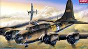B-17F Memphis Belle 1/72, Academy
