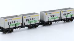 C-vagn Rmms663 Green Cargo