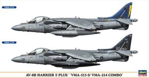 "AV-8B HARRIER II PLUS ""VMA-513 & VMA-214 COMBO"" - 2 KITS IN BOX 1/72"